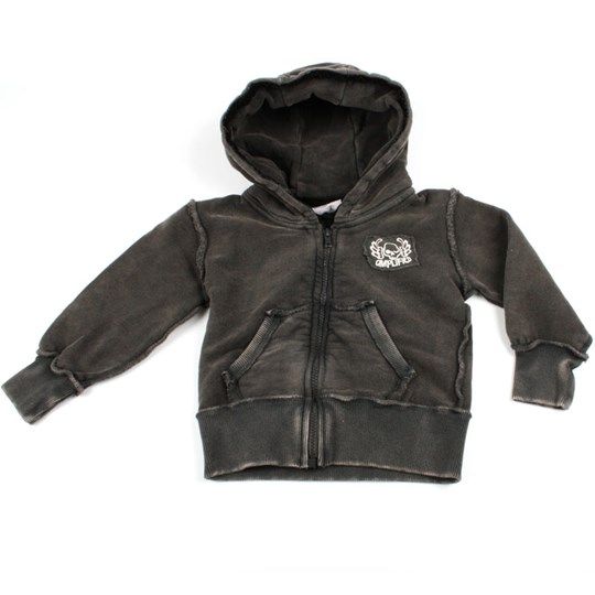 Amplified Kids Hoodie ACDC Diamonds Black
