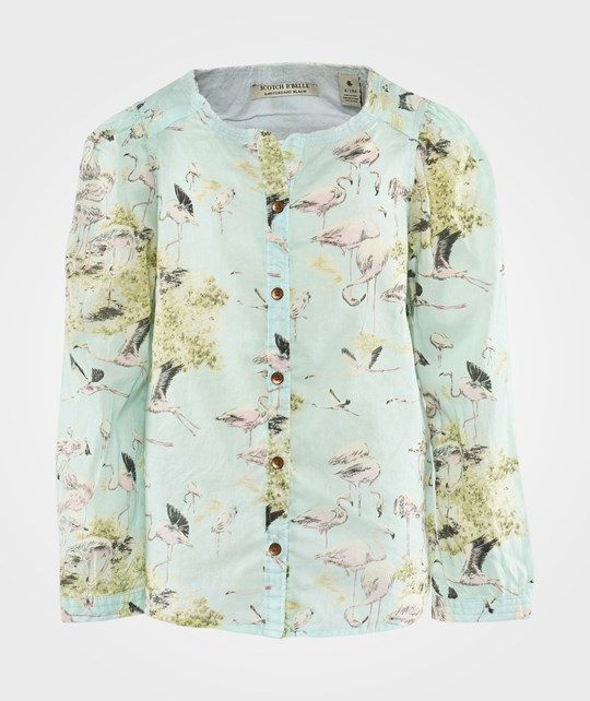 Scotch R'belle Printed Tunic Shirt Dessin