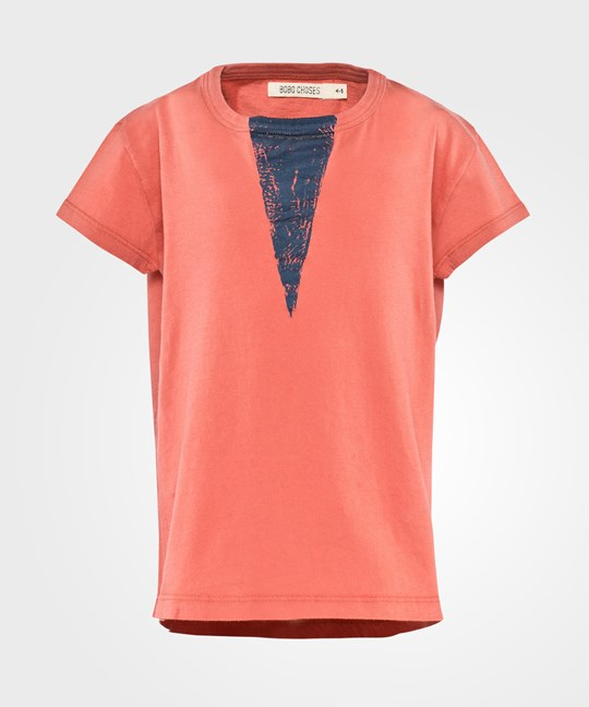 Bobo Choses T-shirt SS Triangle Red