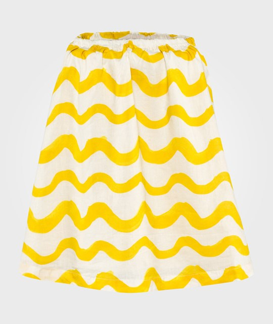 Bobo Choses Skirt Waves AO Beige