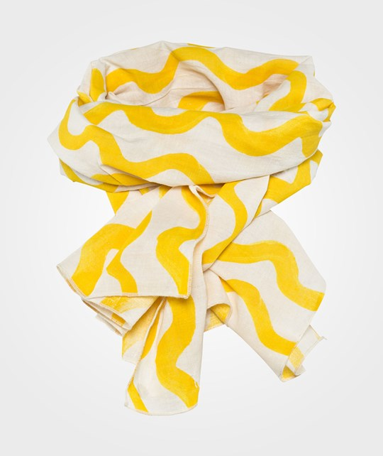 Bobo Choses Voile Scarf Waves AO Yellow Yellow