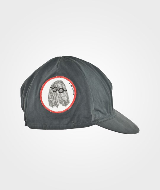 Bobo Choses Cap patch Mr Clever Ghost Black