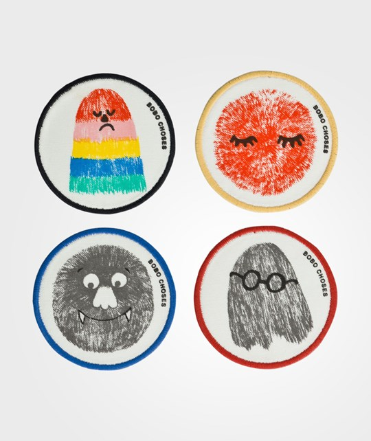 Bobo Choses Set of patches SS16 Beige