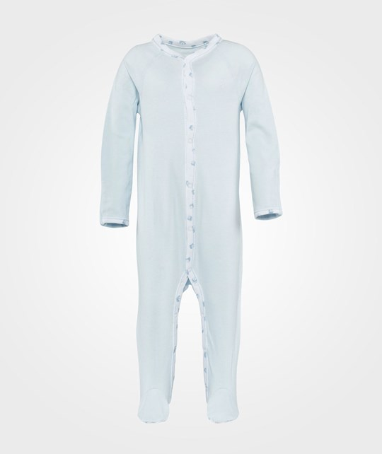 Ralph Lauren Solid Coverall Pearl Blue Blue