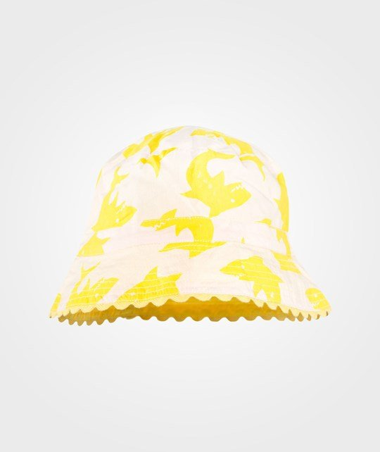 Stella McCartney Kids Dolores Hat  Aop Small Yel Shark