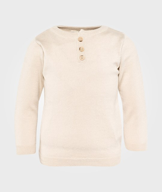 As We Grow Henley Sweater Cream