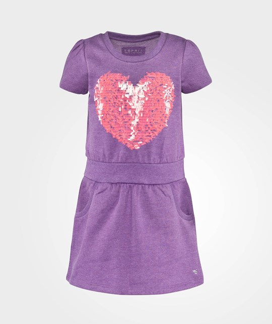 Esprit Heart Knit Dr Purple Burst Purple