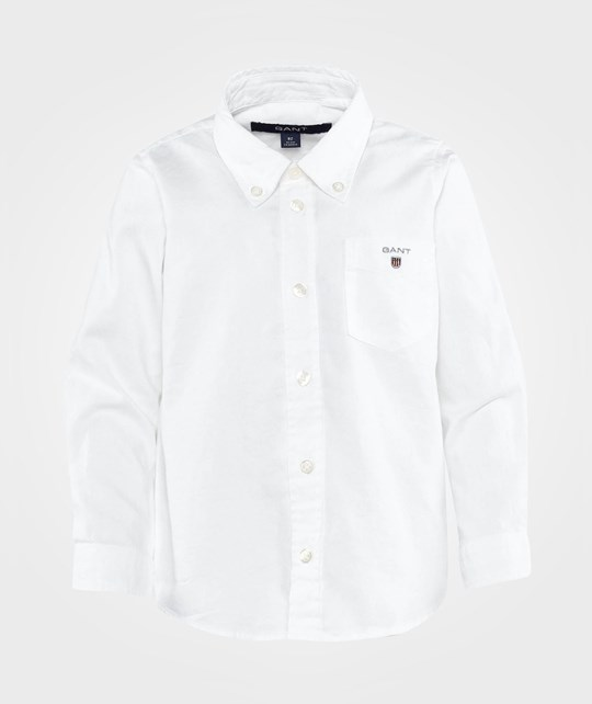 Gant Boy Archive Oxford Shirt White