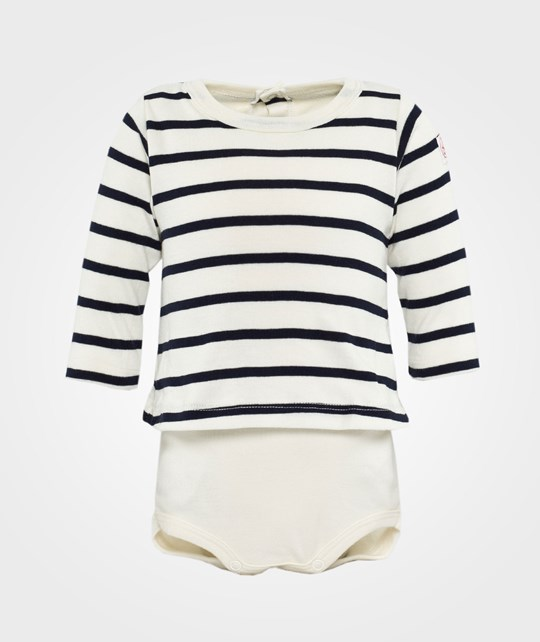 Petit Bateau Body Shirt Striped White