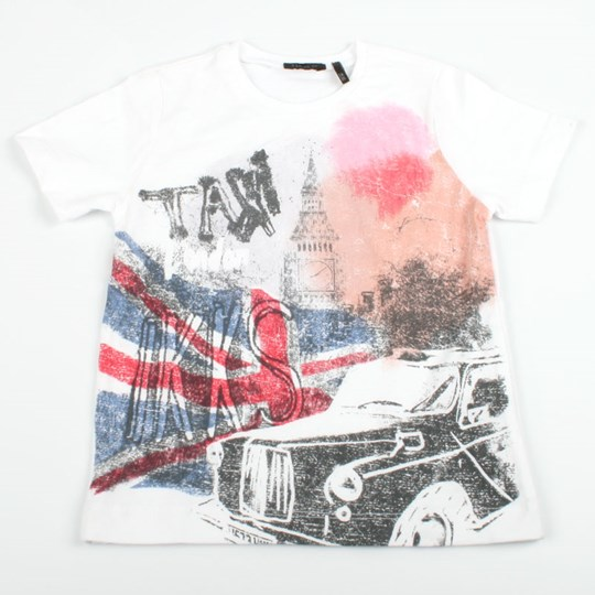 IKKS T-shirt Mc Taxi White