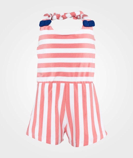 Wauw Capow Kiddo Jumpsuit  Rose & White Striped