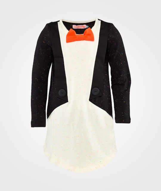 Wauw Capow Jacket Dress  Black & Off White W. Nops