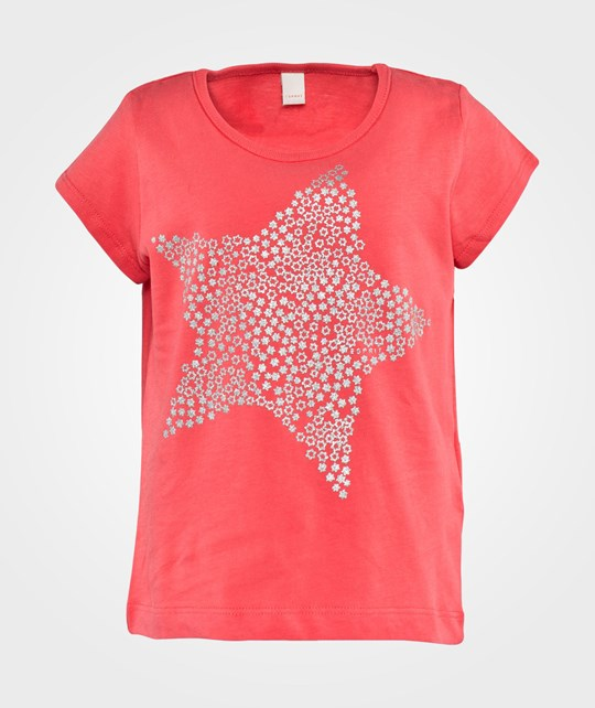 Esprit Star T-Shirt Coral Red