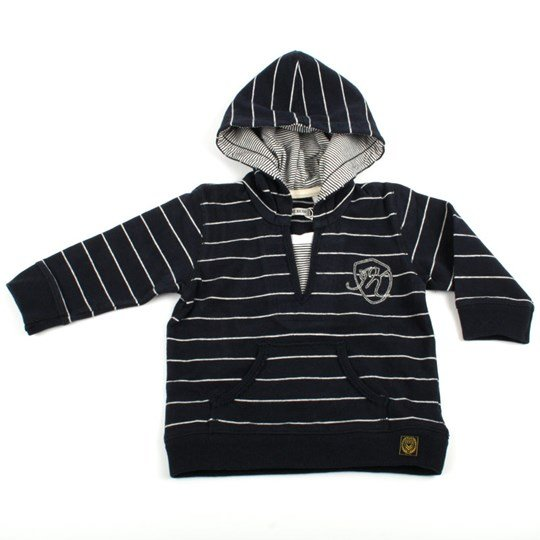 IKKS Sweat Capuche Navy Blue