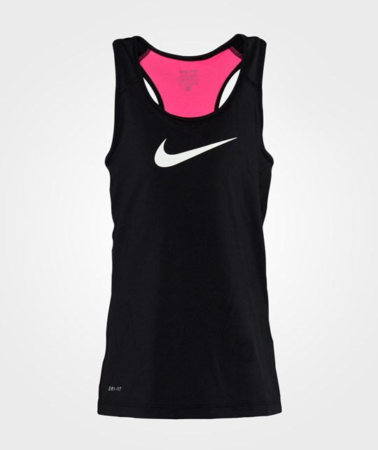 NIKE Nike Pro Tank Youth Black/Pink Pow