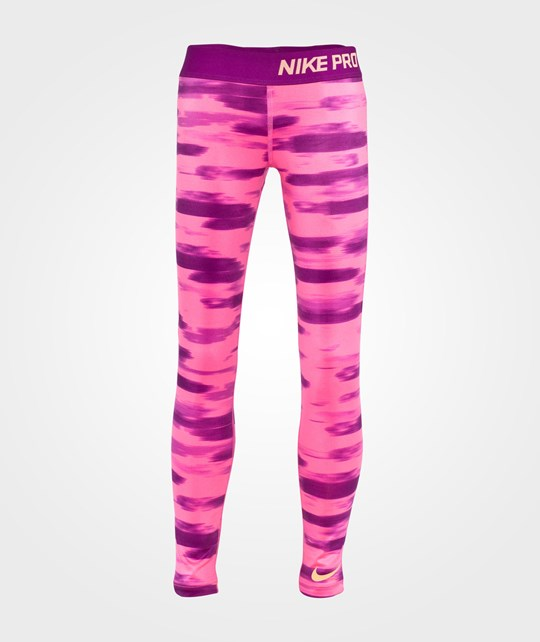 NIKE Nike Pro Aop Tights Youth Pink Pow/Bold Berry