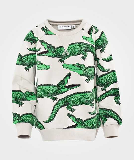Mini Rodini Crocodile Aop Sweatshirt Black