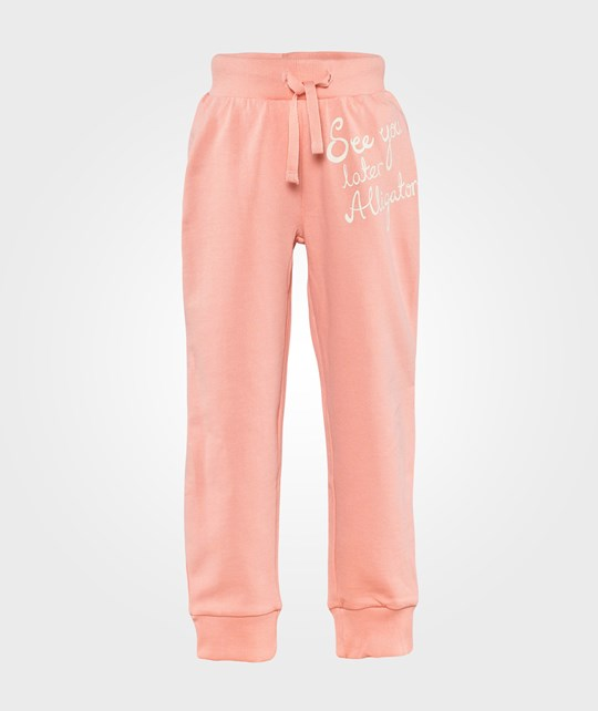 Mini Rodini Alligator Sp Sweatpants Pink