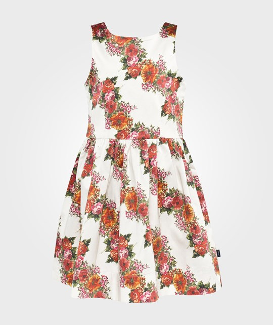Gant C.W Diagonal Flower Dress Cream