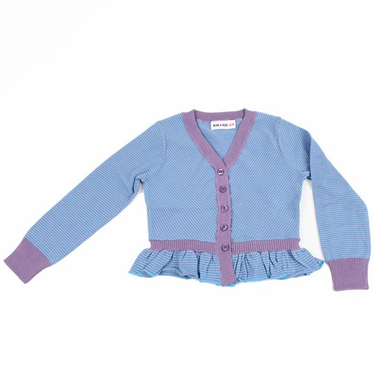Kik Kid Cardigan Knitted Lila Purple