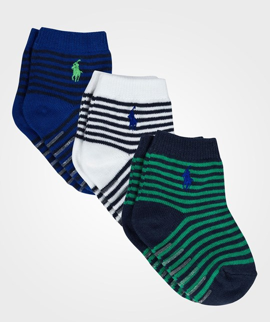 Ralph Lauren St James Stripe 3 Pack Assorted 3