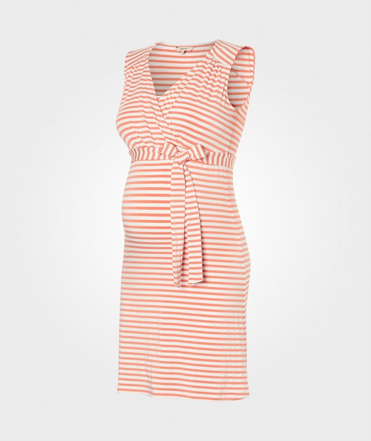 Noppies Dress Nursing Sl Lara Yd 2 Peach