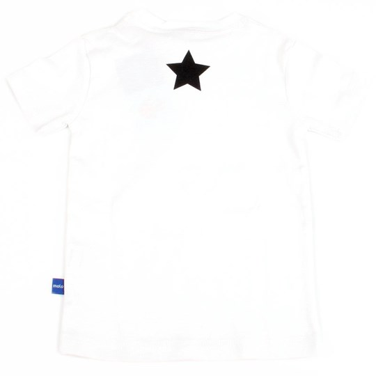 Molo T-shirt Robert White With Blac White