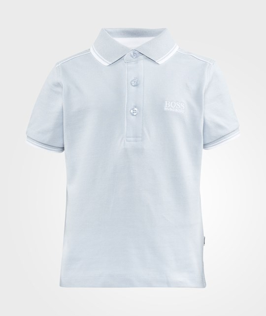 BOSS Polo Shirt  Pale Blue