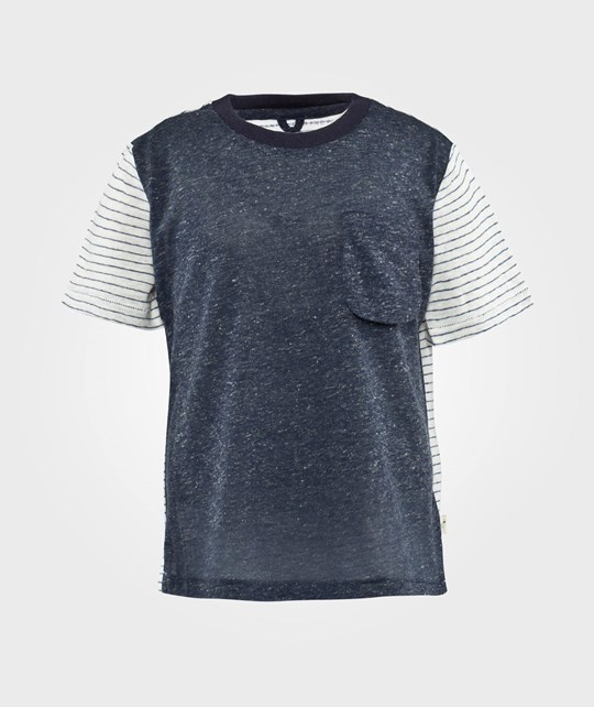 Stella McCartney Kids Basil T Shirt Moon Blue