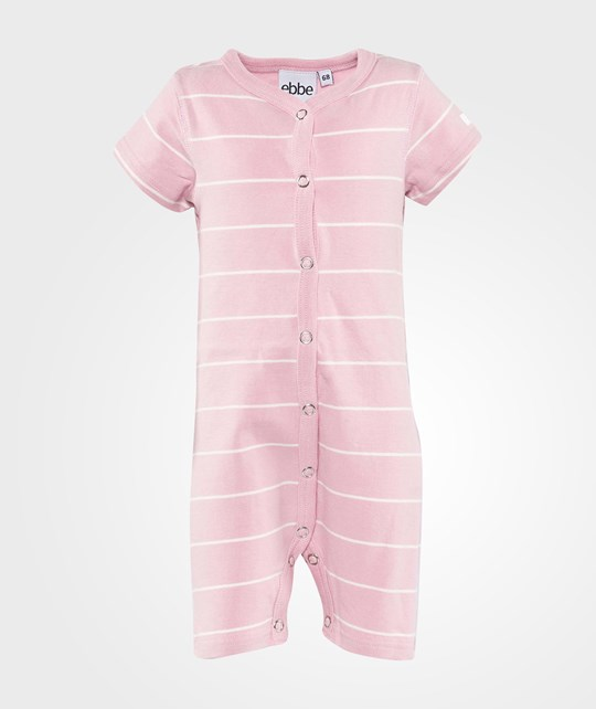 ebbe Kids Tove Beachsuit S/S S/L  Pink Nectar/ Offwhite
