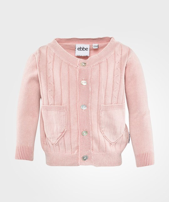 ebbe Kids Trudy Knit Cardigan  Pink Dust