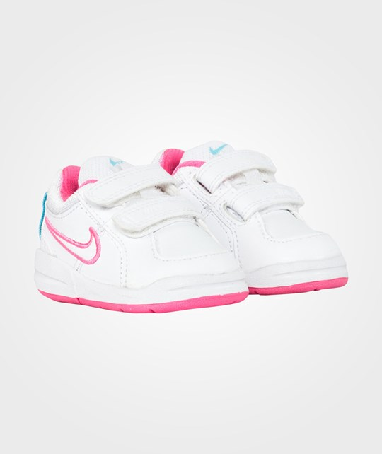 NIKE Pico 4 Toddler White/Clearwater Pink
