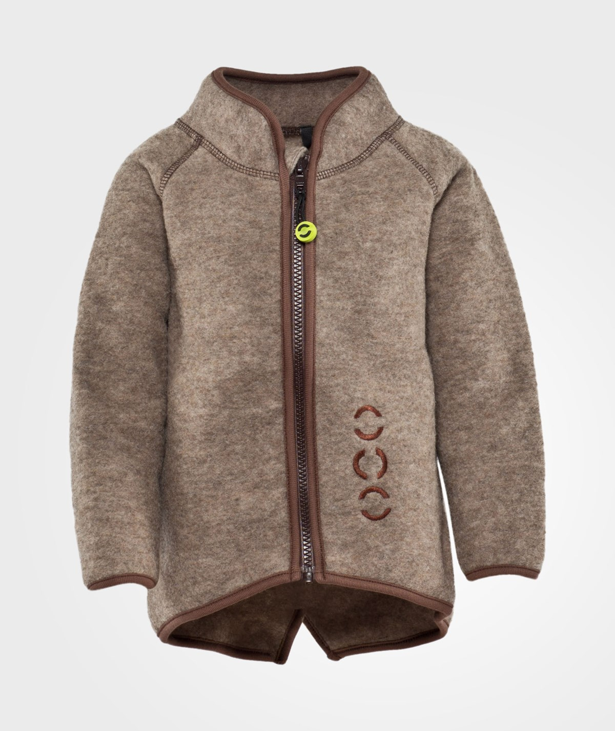 Mikk Line Fleece Jacket Junior Wool Babyshop Com