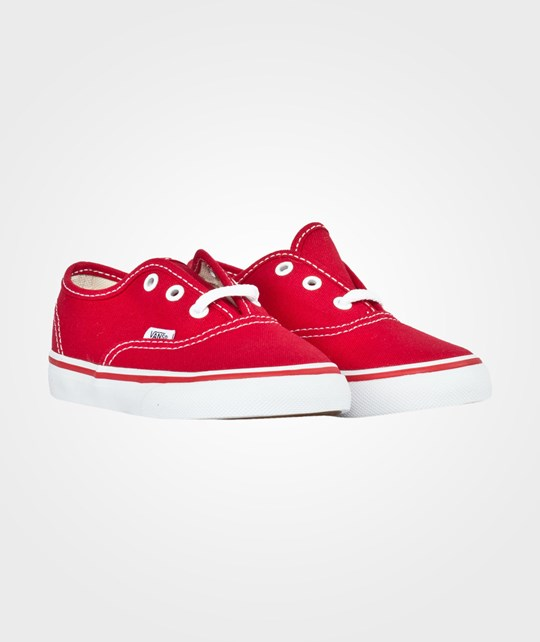 Vans Toddler Authentic Red 20