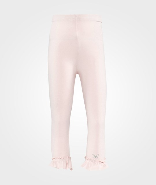 Livly Ruffled Leggings  Blush