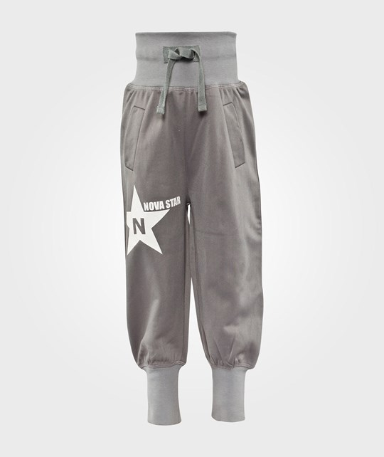 Nova Star Track Trousers Grey  Black