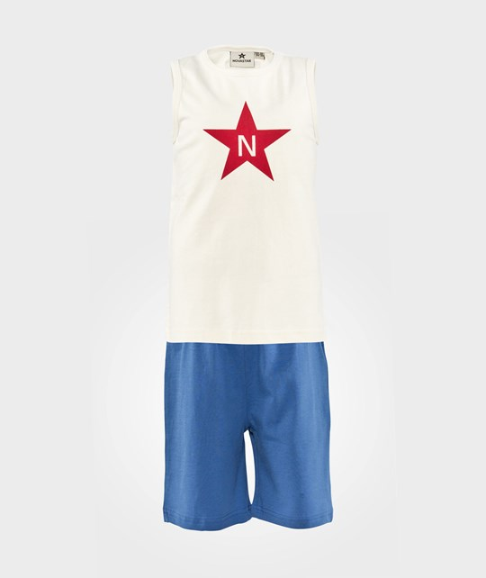 Nova Star Pyamas Star  White/Blue