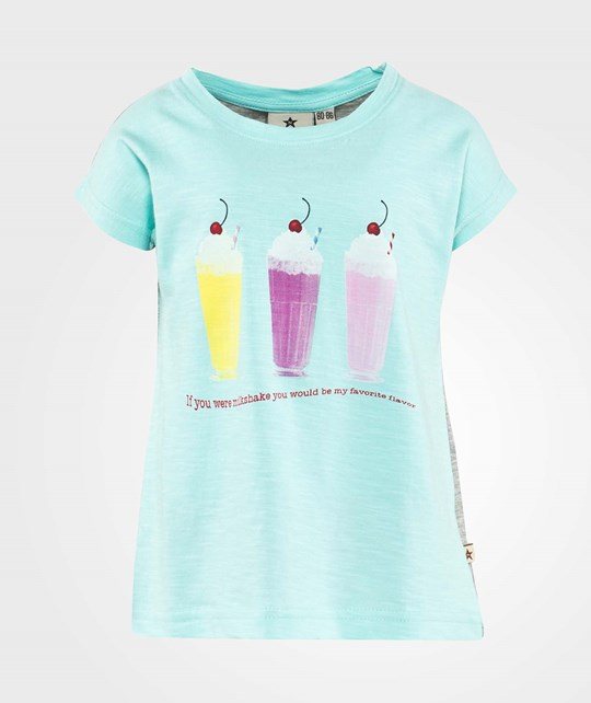 Nova Star Milkshake Tee  Mint Blue/Grey