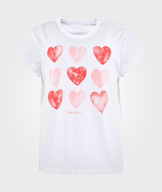 Esprit Hearts TS White