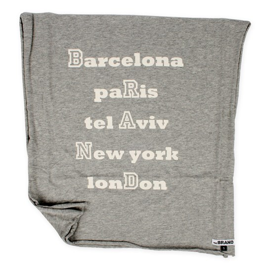 The BRAND Scarf City Grey Black