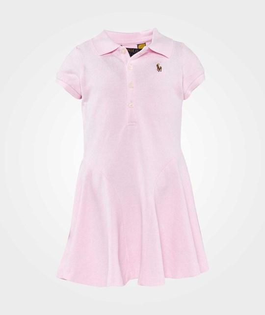 Ralph Lauren Ssl Polo Dress Carmel Pink