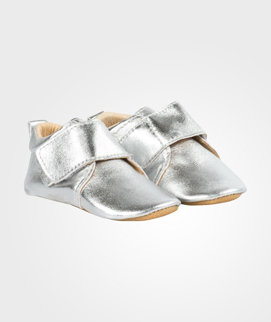 Move Prewalker Velcro Shoe Silver