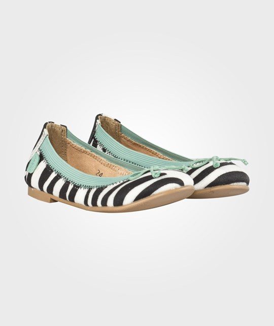 Move Girls Elastic Ballerina W/Bow Zebra