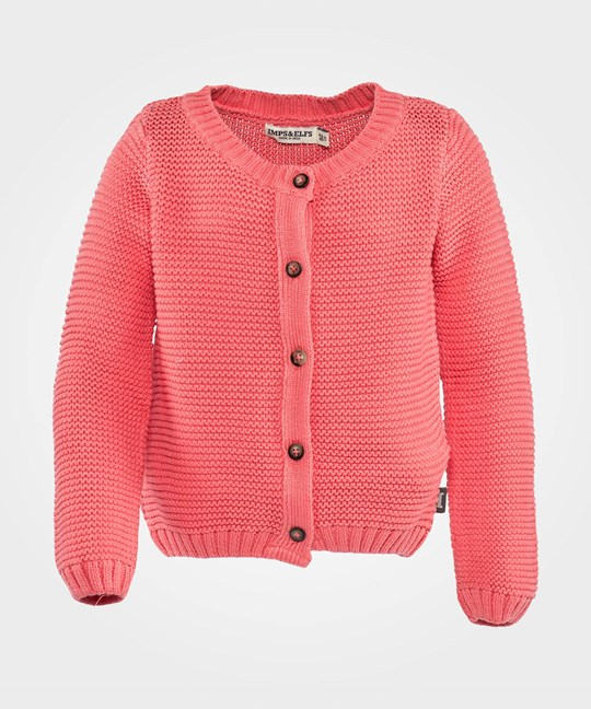 Imps & Elfs Cardigan Long Sleeve Candy Pink