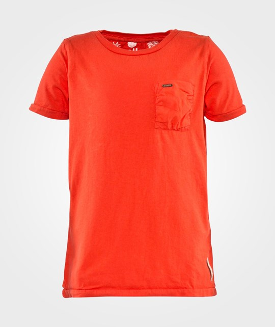 Scotch Shrunk Basic Garment Dyed Tee With Embroidery Detail Ketchup
