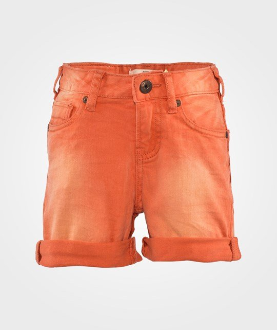Scotch Shrunk 5-Pocket Rocker Shorts Tangerine
