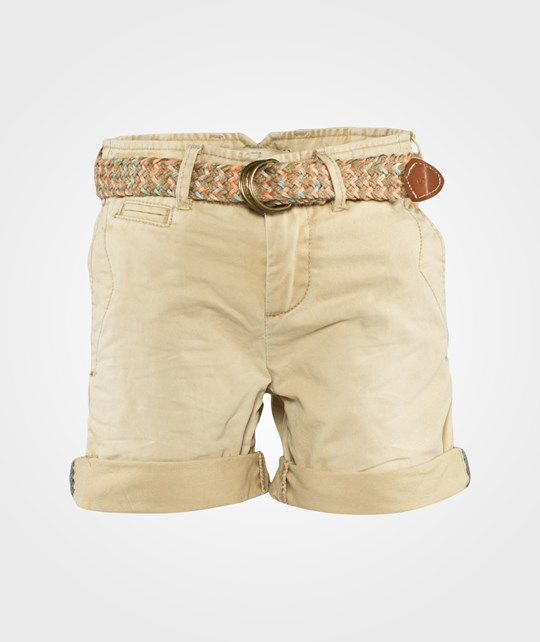 Scotch Shrunk Worker Chino Shorts In Twill Quality Sand