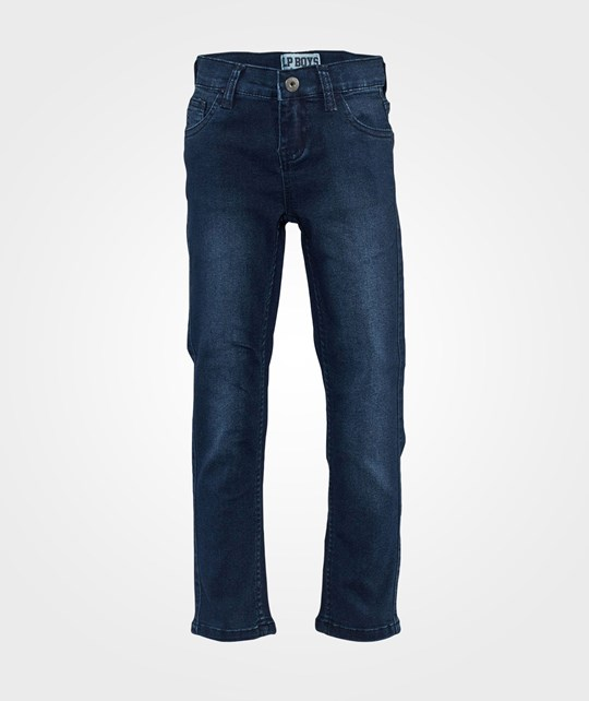 Little Pieces Fitted Jeans  Dark Blue Denim