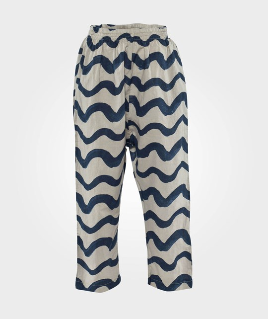 Bobo Choses Pants Waves AO Grey