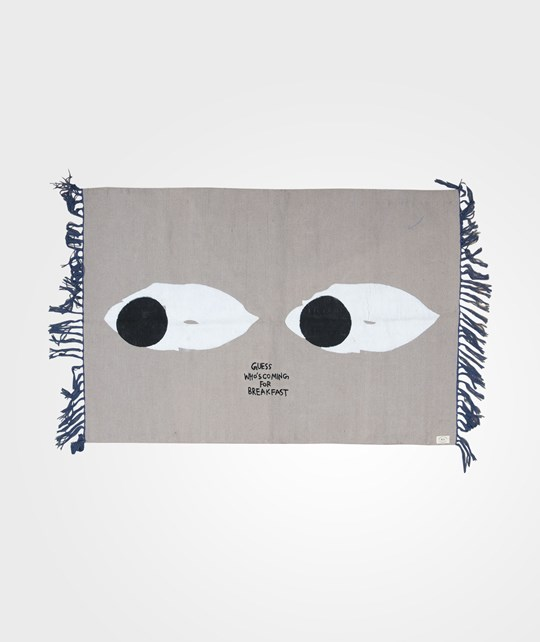 Bobo Choses Rug 100x140cm CO Mr Peep Black